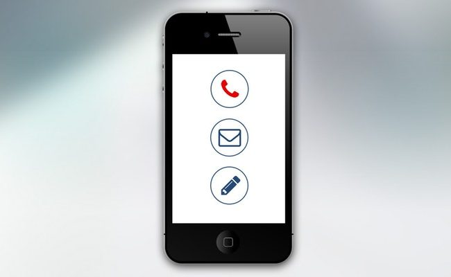 iphone contact